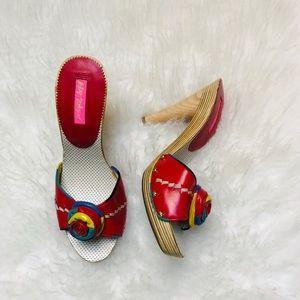 Betsey Johnson Colorful Heels 👠